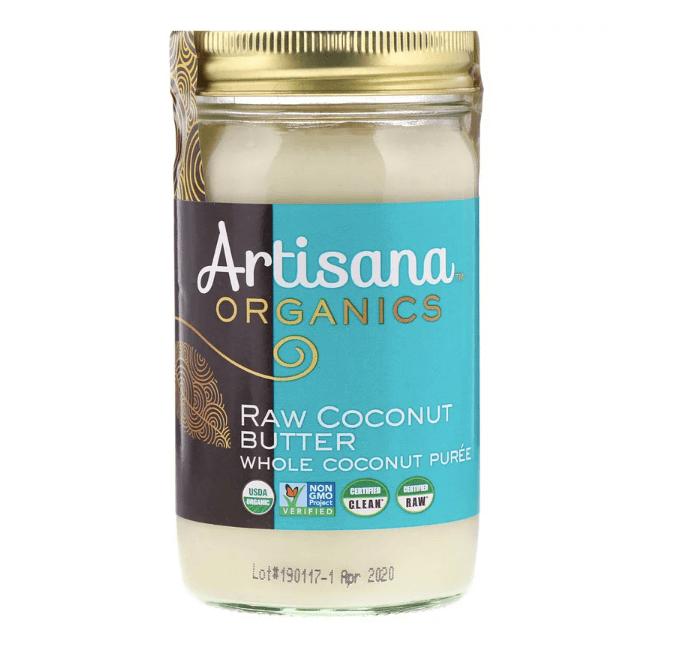 Artisana社のオーガニックココナッツバター